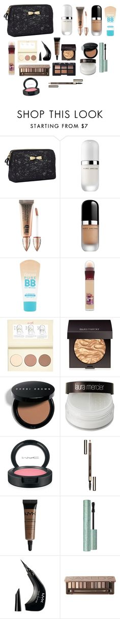 """Untitled #99"" by lauracruzsoriano-2 on Polyvore featuring beauty, Victoria's Secret, Marc Jacobs, Urban Decay, Maybelline, River Island, Laura Mercier, Bobbi Brown Cosmetics, MAC Cosmetics and Clarins"