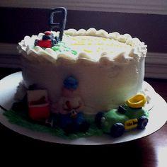 Lawn guy cake