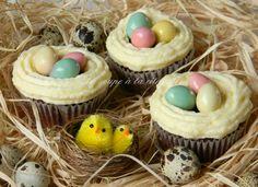 Cupcakes en petits nids