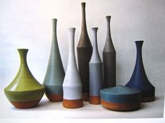 Love the shapes and colors of these Morandi Mood Vases by Nadia Pignatone