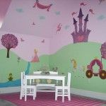 Paint and wall stickers