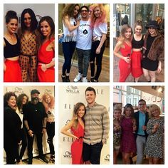 More Smashing Pics from Elle Magazine and Wella Party — BUZZ SALON