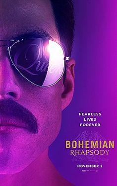 Free Watch Bohemian Rhapsody : HD Free Movies Singer Freddie Mercury, Guitarist Brian May, Drummer Roger Taylor And Bass Guitarist John Deacon. 2018 Movies, New Movies, Movies To Watch, Good Movies, Movies Online, Movies And Tv Shows, Freddie Mercury, Rami Malek, Ted Bundy