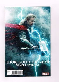 THOR GOD OF THUNDER #13 Limited 1 for 15 Movie Photo Variant Cover! NM  http://www.ebay.com/itm/-/291979790898?roken=cUgayN&soutkn=aw4koF