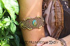 Made To Order Pixie Macrame Bracelet / Cuff with por PrimitiveCraft, $70.00