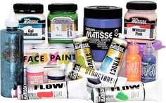 My one of my most used brands of paints, Matisse :)