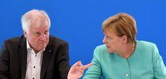 Obergrenze für Flüchtlinge: Seehofer droht Merkel mit endgültigem Bruch - SPIEGEL ONLINE - Nachrichten - Politik