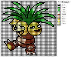 Crochet Fanatic: Pokemon 102-110: Exeggcute, Exeggutor, Cubone, Marowak…