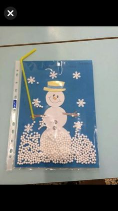 Christmas Crafts For Kids To Make, Preschool Christmas, Diy Christmas Ornaments, Preschool Crafts, Winter Magic, Winter Fun, Winter Theme, Winter Art Projects, Sunday School Crafts