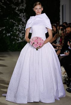 Carolina Herrera, Spring 2012. Fairchild Archive.