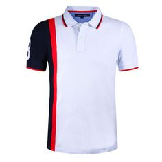 Find More Polo Information about 2015 Brand II Stitching Color Polo Shirt Mens… Sports Polo Shirts, Polo Shirt Brands, Polo Shirt Style, T Shirt, Polo Fashion, Tommy Hilfiger Shirts, Couple Shirts, Mens Tees, Outfits For Teens