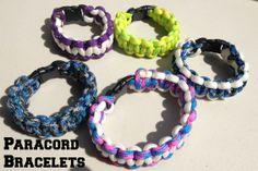 DIY Paracord Bracelets {how to}