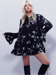 Free People Clover Field Printed Tunic, $118.00