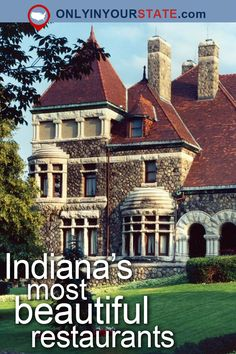 The 12 Most Beautiful Restaurants In All Of Indiana Places to travel 2019 - Travel Photo Florida Vacation, Vacation Places, Vacation Trips, Vacation Spots, Day Trips, Places To Travel, Vacations, Vacation Ideas, Weekend Trips