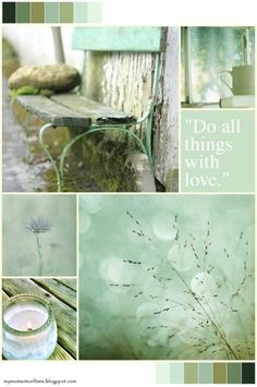 Thoughts Gather here Love Collage, Color Collage, Beautiful Collage, Collages, Mood Colors, Colour Board, Color Pallets, Shades Of Green, Mood Boards