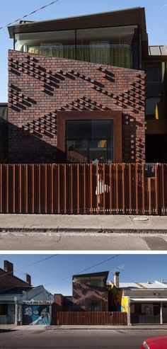 Brick brise soleil eight perforated brick facades for Architecture firms in australia