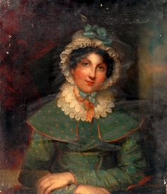 Uknown Painter, Portrait of a Young Lady