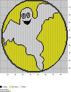 Plastic Canvas Crafts, Plastic Canvas Patterns, Halloween Pumpkins, Halloween Crafts, Halloween Cross Stitches, Homemade Playdough, Cross Stitch Charts, Fall Crafts, Wall Design