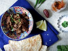 Spicy Shredded Beef or Bhunna Gosht – Guest Post at Yummy Food
