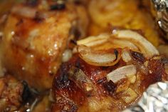 Sweet and Spicy Chicken Thighs.  Very tender and flavorful.  I reduced the chipotle to 1 to make it more palatable for the kids.