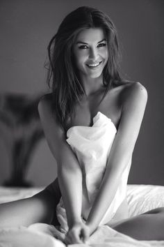Beautiful smile. #BlackAndWhite #Models #ProvenAsTheBest