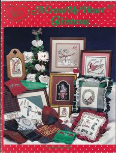 A Cross My Heart Christmas And Winter 19 Counted Cross Stitch Patterns CSB23 #CrossMyHeart #Various