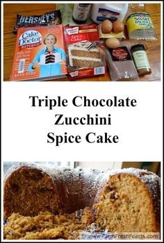 recipe: chocolate chip zucchini cake with cake mix [38]