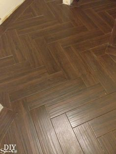 DIY Show Off. Herringbone Tile PatternTile ...