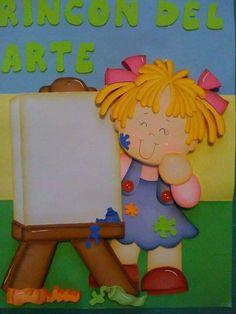 muñeca para hacer en mural
