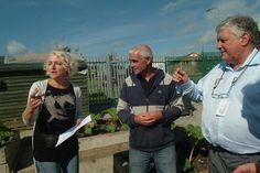Irish Food Tours - Donal Lehan introduces Waterford Community Gardern