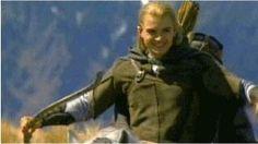 Legolas on a lighter note :)