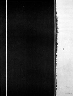 Barnett Newman - 12. Twelfth Station - the stations of the cross - Lema Sabachthani - 1958/1966 - National Gallery of Art, Washington, D.C. (Christ's death)