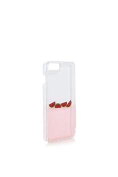 **Watermelon Charm iPhone 6/7 Plus Case by Skinnydip - iPhone Accessories - Bags & Accessories - Topshop