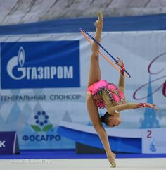 Dina Averina (Russia) won silver in hoop finals at Grand Prix (Brno) 2016