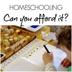 Can you afford to homeschool An Everyday Story The Practicalities of Homeschooling: Can you afford it?