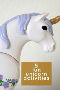 5 fun Unicorn activities   Bop Till You Drop