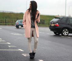 Pink And Green Color Pop Street Style 12 - pictures, photos, images