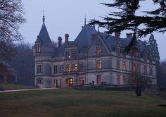 Château de la Bourdaisière en Indre-et-Loire, France (XIXe siècle).