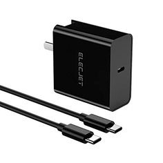 #ELECJET 45W #USBC Super Fast #WallCharger Galaxy Note 10, Galaxy S8, Samsung Galaxy Phones, Dell Xps, Chromebook, Charger, Smartphone, Usb, Iphone