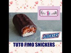 TUTO FIMO snickers