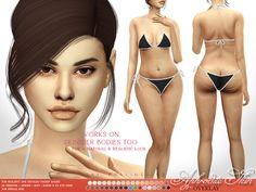 Mods Sims, Sims 4 Body Mods, Sims 4 Game Mods, Sims 4 Mods Clothes, Sims 4 Clothing, Sims 4 Cas, Sims Cc, The Sims 4 Skin, Aphrodite