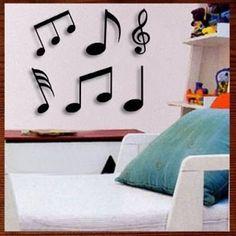 kit de 6 notas musicais mdf escultura parede musical vazada Musicals, Wall Art, Laser, Crafts, Etsy, 3d Printer, Creativity, Guitar, Mirror