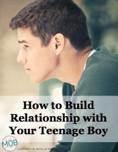 Monica Swanson shares three daily reminders that have helped her to connect with and stay connected to her teen boy.