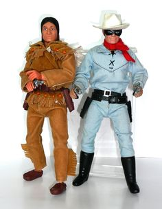 Lone Ranger &Tonto Action Figures-Gabriel Vintage Toys 1960s, Retro Toys, Vintage Dolls, Gi Joe, Childhood Toys, Childhood Memories, Videogames, Old School Toys, Western Comics