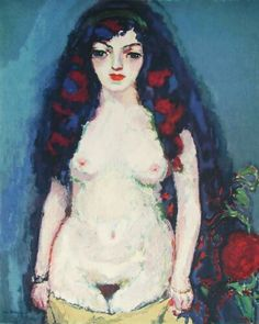 Kees van Dongen (Dutch-born French, 1877-1968). Nude.