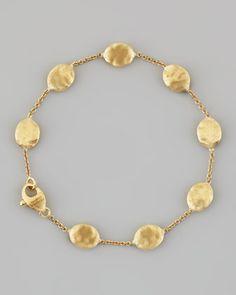 Marco Bicego Siviglia 18K Gold Single-Strand Bracelet krVbU2Qfor
