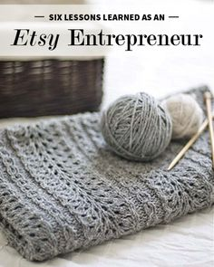 Six Lessons Learned as an Etsy Entrepreneur
