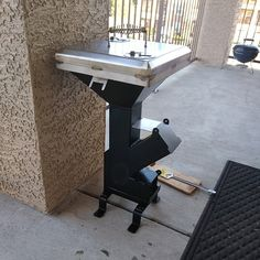 Stainless steel rocket stove accessory, grill top grate and reducer *stove sold separately* Rocket Stove Design, High Heat Paint, Expanded Metal Mesh, Metal Plant Hangers, Stove Accessories, Cool Fire, Stainless Steel Rod, Lighter Fluid, Custom Vanity