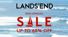 Online Only: Up to 60% #Off sale & clearance.  Store : #LandsEnd Scope: Entire Store  Ends On : 09/18/2016    Get more deals: http://www.geoqpons.com/Lands-End-coupon-codes    Get our Android mobile App: https://play.google.com/store/apps/details?id=com.mm.views    Get our iOS mobile App: https://itunes.apple.com/us/app/geoqpons-local-coupons-discounts/id397729759?mt=8