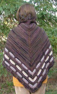 Cozy Garter Stitch Shawl | AllFreeKnitting.com